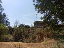 Fort im Maharashtra stockfotos