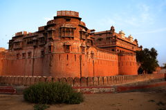 Fort Inde de Junagarh images stock