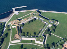 Fort Independence, Boston Royalty Free Stock Images