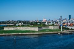 Fort Independence In Boston Royalty Free Stock Photo