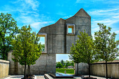 Fort Indiantown Gap Barn Side Monument Stock Photography