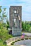 Fort Indiantown Gap Przegląda Od górnego udziału Fotografia Stock