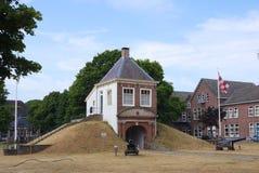 Fort Isabella in Vught, die Niederlande lizenzfreies stockbild