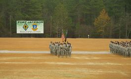 Fort Jackson Parade Stock Photography