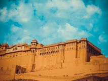 Fort Jaipur d'Amer Photo stock