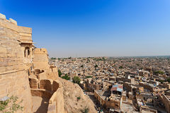 Fort in Jaisalmer Royalty Free Stock Images