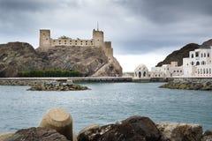 Fort Jalali Muscat arkivfoto