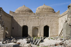 Fort Jalan Bani Bu Ali, Sultanate of Oman Stock Photo
