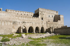 Fort Jalan Bani Bu Ali, Sultanate of Oman Royalty Free Stock Photo