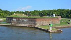 Fort James Jackson Lizenzfreie Stockbilder