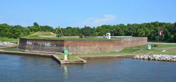 Fort James Jackson Lizenzfreies Stockbild