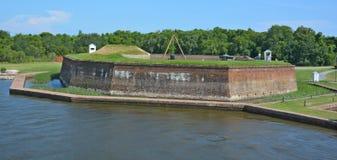 Fort James Jackson Lizenzfreie Stockfotografie
