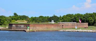 Fort James Jackson Lizenzfreies Stockfoto