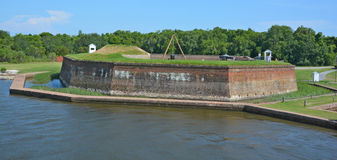 Fort James Jackson Royalty Free Stock Photography