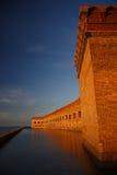 fort jefferson royaltyfri fotografi