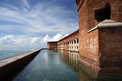Fort Jefferson image stock