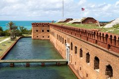 fort Jefferson Obrazy Royalty Free