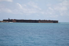 Fort Jefferson Royaltyfri Bild