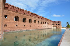Fort Jefferson zdjęcia royalty free