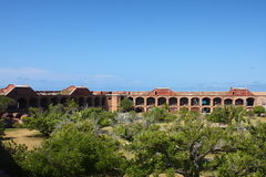 fort jefferson photo stock