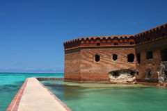 fort jefferson photos stock