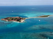 Fort Jefferson fotografia stock