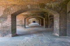 Fort Jefferson Archways von Front Side 6 stockbild