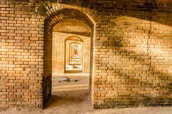 Fort Jefferson Brick - trockener Nationalpark Tortugas - FL Stockfotografie