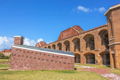 Fort Jefferson Courtyard Stock Photo