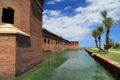 Fort Jefferson in Dry Tortugas National Park, Florida Keys stock photo