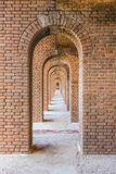 Fort Jefferson Fortress Photo stock