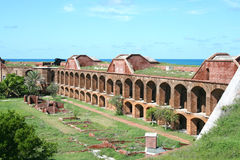 Fort Jefferson inner arches, Dry Tortugas Stock Photography