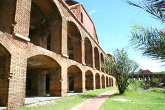 Fort Jefferson inner arches, Dry Tortugas Stock Photo