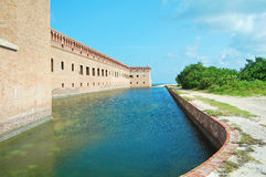 Fort jefferson moat Stock Photos