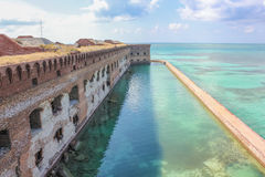 Fort Jefferson panorama Stock Images