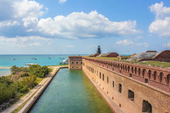 Fort Jefferson panorama Royalty Free Stock Photo