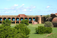 Fort Jefferson, Tortugas sec, la Floride Photo stock