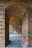 Fort Jefferson Upstairs Archways von Front Side 5 stockfotografie