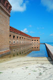 Fort jefferson walls Stock Photography