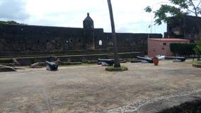 Fort Jesus Canons Arkivbilder