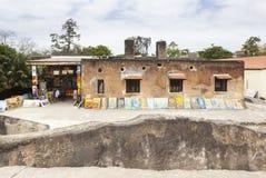Fort Jesus i Mombasa, Kenya Fotografering för Bildbyråer
