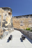 Fort Jesus i Mombasa, Kenya royaltyfri fotografi