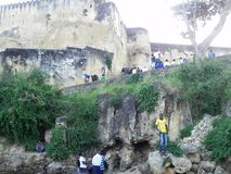 Fort Jesus  Mombasa Royalty Free Stock Photo