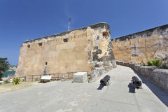 Fort Jesus in Mombasa, Kenia Royalty-vrije Stock Afbeelding