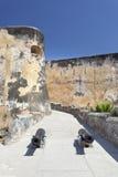 Fort Jesus in Mombasa, Kenia royalty-vrije stock fotografie