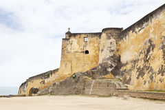 Fort Jesus in Mombasa, Kenya. Walls of the historic Fort Jesus in Mombasa, Kenya Royalty Free Stock Photos