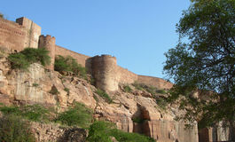 Fort in Jodhpur, India Royalty Free Stock Image