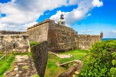 fort juan san Royaltyfri Fotografi