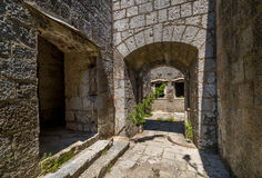 Fort Kabala main gate Royalty Free Stock Photos