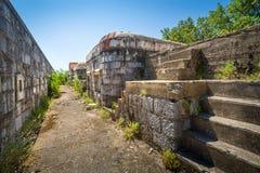 Fort Kabala upper floor Stock Photo